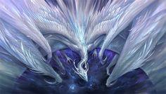 White crystal dragon by sandara