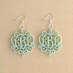 copper filigree cut out earrings - Google Search