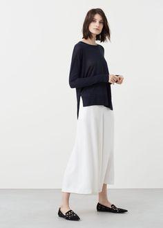 Camisola malha fina | MANGO