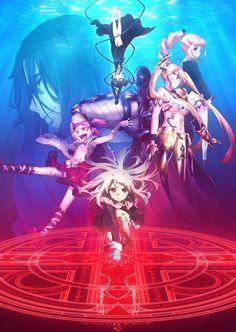 Tercera imagen promocional oficial del Anime Fate/kaleid liner PRISMA☆ILLYA 3rei!!.