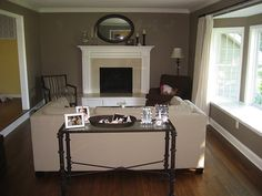 Paint Colors for Living Room with Brown Couch | living room
