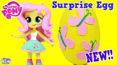 my little pony equestria girls minis cute kawaii doll Fluttershy and Pla...