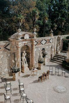 See the full Italian garden wedding on thelane.com Garden Wedding Inspiration, The Rite, Italian Garden, Pampas Grass, Italy Wedding, Summer Garden, Style Guides, Real Weddings, Wedding Planner