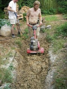Making cob is the hardest part of cob building, here is an idea for mechanizing the mixing process