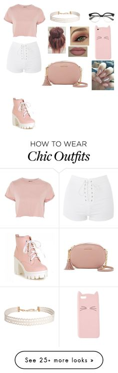 """friend birthday party outfit"" by aysia4life on Polyvore featuring Topshop, MICHAEL Michael Kors, Humble Chic, The Casery and Charlotte Russe"