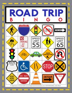 Road Trip Bingo Free Printable - Going on a road trip? Use our Free Printable Road Trip Bingo Game Cards to keep everyone busy and having fun during the long drive! Great for all ages! Game Cards, Bingo Cards, Card Games, Road Trip Bingo, Road Trip Games, Road Trip Activities, Kid Activities, Bingo Games For Kids, Travel Bingo