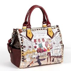 Nicole Lee Suzy S Collection Kayla Convertible Satchel 99 Handbags Unique Fab