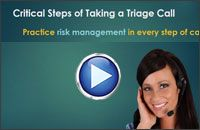 These steps are great to be sure you are taking calls properly! Triage Nursing, Risk Management, Telephone, Take That, Goals, Feelings, Blog, Phone, Blogging