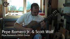 Pepe Romero Jr.'s 200th Guitar