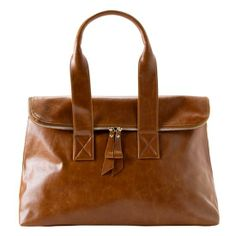 Ines Tote in Saddle