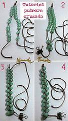 tutorial pulsera cruzada | Flickr - Photo Sharing!