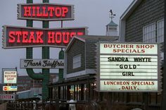 Local institution the Hilltop Steakhouse in Saugus is closing