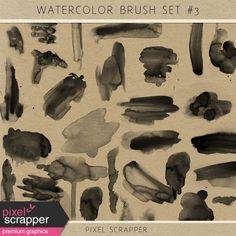 Watercolor Brush Kit #3