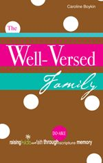 Great book about helping your family to memorize scripture