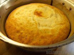 Hotový koláč z remosky