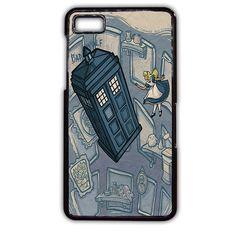 Bad Wolf Police Box Dr Who Alice Wonderland Blackberry Phonecase For Blackberry Q10 Blackberry Z10