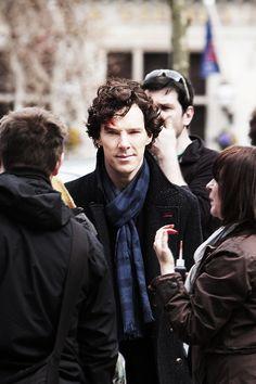 Benedict Cumberbatch as Sherlock Sherlock Bbc, Benedict Sherlock, Sherlock Fandom, Benedict Cumberbatch Sherlock, Sherlock Season, Martin Freeman, Detective, Benedict And Martin, Mrs Hudson
