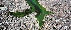 An aerial view shows illegally built slums on the border of the polluted water of Billings reservoir in Sao Paulo February 12, 2015. According to local media, the Billings dam supplies 1.6 million people in the Greater ABC region of Greater Sao Paulo and the state government wants to treat the water to be adequate for human consumption, adding to the complexity of securing safe water supply during the drought. Brazil is facing its worst drought in 80 years and its economy is already expected…