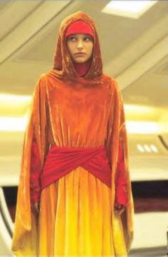 I'd love to make this as well. The flame handmaiden robe from Star Wars Episode I: The Phantom Menace. Every attempt I've ever made at ombre has been disasterous though...