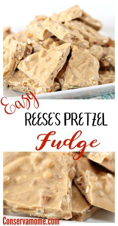 If you're a fan of Reese's & Pretzels than do I have a delicious recipe for you! Check out this Easy Reese's Pretzel Fudge recipe!