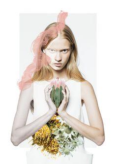 fashion & flowers   Fashion + Photography   Cameo the Label   Photo: Henry Hudson  