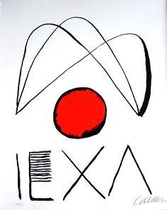 Alexander Calder, Litografía