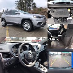 2019 'Billet Metallic' Jeep Cherokee North 4x4.  BLUETOOTH.  BACKUP CAM. HTD SEATS. TOW!  Stock 19007. Click pic for more info.