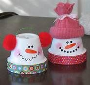So cute! I'd use a foam cup instead of a pot.