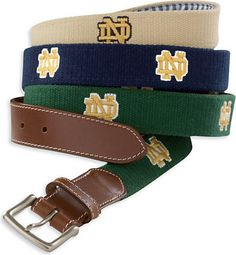 c7510e9323 Peter Millar University of Notre Dame Belt