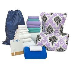Dorm Room Deluxe 20pc Set #BoysDorm #GirlsDorm #CollegeBedding