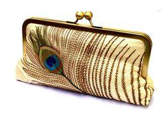 Venta cuenta seda embrague, bolso forrado en seda del Dupioni zafiro