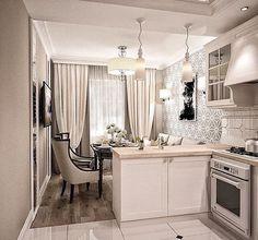 Dobry pomysł na połączenie kuchni z salonem i jadalnią jak jest mały metraż