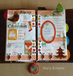 She's Eclectic: My week in my Filofax #52 and happy New Year!