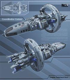 Starship design using Alcubierre warp drive technology