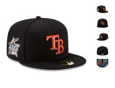 a358155a921bfb Tampa Bay Rays New Era 2017 Home Run Derby Side Patch 59FIFTY Fitted Hat -  Black Special Event Item