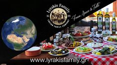 From Space to Table - Lyrakis Family S.A. | Website Welcome Intro