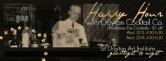 Dayton Cocktail Co. Takes over the bar for Happy Hour at Dayton Art Institute! Mixed Drinks, Fun Drinks, Night Bar, The Bistro, Happy Hour, Leo, Wedding Planning, Cocktails, December 11