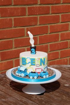 Train cake - Cake by Ermintrude's cakes