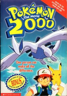 Pokemon the Movie The Power Of One Movie Novelization) (Pokemon) Two Movies, 2 Movie, Squirtle Squad, Pokemon 2000, Emoji Movie, Mystery Books, Chapter Books, Used Books, Learn To Read