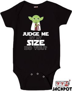 Funny Baby Clothes Bodysuit Movie Parody Onepiece by JackPotTees