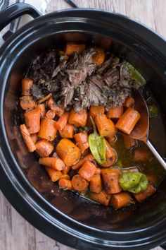 Make this easy to make Homemade Mississippi Roast in the Slow Cooker recipe for a delicious home cooked meal without all the extra work!