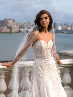 eve of milady boutique fall 2015 romantic strapless sleeveless lace embroidered bodice beautiful a line wedding dress 1549 -- Eve of Milady Fall 2015 Wedding Dresses Eve Of Milady Wedding Dresses, Long Wedding Dresses, Wedding Dress Styles, Bridal Dresses, Wedding Gowns, Lace Wedding, Dream Wedding, Wedding Rompers, Bridal Reflections