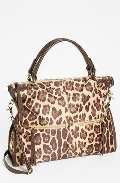 Leopard print tote...Cute.