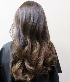 Fall balayage! #HairByKristenLentz