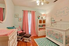 Baby girl's rooms In style baby rooms...