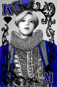 #shinee #taemin #fanart inspired by the dxdxd/JAT playing cards