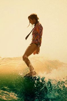 There's no place I'd rather be, than on a surfboard out at sea.. <3