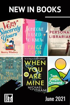 June 2021 Book Releases. My top picks of the best new fiction releases this month with a hefty dose of romance, drama, mystery and history. Which of these will earn a spot on your reading pile? Reading Lists, Book Lists, New Books, Books To Read, Mystery Thriller, Historical Fiction, Book Lovers, Novels, Romance
