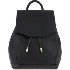RAG & BONE Mini leather pilot backpack ($685) ❤ liked on Polyvore featuring bags, backpacks, black, leather rucksack, genuine leather backpack, leather knapsack, leather backpack and rag & bone