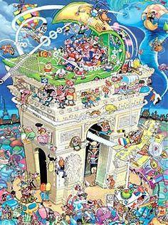 Arc de Trimphe jigsaw puzzle by Heye